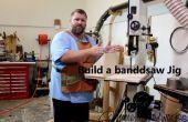 Bauen Sie eine Bandsäge Schlitten/Jig für Kapp- und langen Schnitten