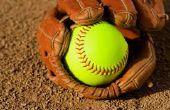 Wie man einen Softball-Schläger schwingen