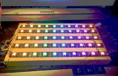 10 x 5 RGB-LED-Matrix mit nur 5 IO-Pins