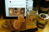 Honig, Zitrone & Ingwer Tee