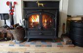 Wie melden Sie sich zur Verbesserung der alten Holz Brenner Effizienzsteigerung Clean brennen Vergasung Sekundärverbrennung