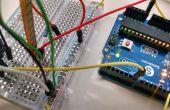 Servosteuerung mit einer Flex/Bend-Sensor