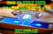 Wie Sie Ihr Smartphone in ein Hologramm verwandeln