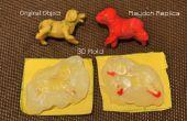3D Heißkleber Formen für Play Teig Modelle - FAIL