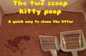 2 Kugel Kitty Poop-Methode - eine wirklich schnelle Möglichkeit, reinigen Sie die Katzenstreu