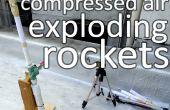 Druckluft-Raketen