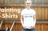 DIY-wie zu malen T-shirts