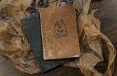 Im Taschenformat Notebooks mit recycelten Grocery Bag Abdeckungen