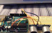 Wie erstelle ich eine einfache Arduino Ultraschall Distanzsensor