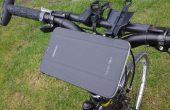 Wie erstelle ich einen jeden Tag (Fahrrad) Träger schnell, billig und einfach für Ihr GPS-Gerät, Smartphone, MP3-Player, Powerpack und/oder andere Sachen...