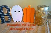 Pumpkin Spice Latte Übernachtung Hafer