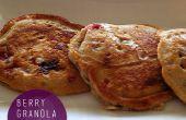 Beeren Müsli Pfannkuchen Rezept