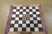 Lasercut-personalisierte Schachbrett