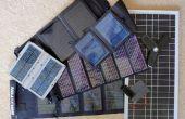 Gebäude ein 12V solar Power-Akku-Pack