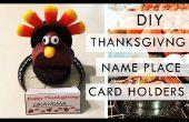 DIY: Thanksgiving Name Karte Platzhalter