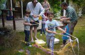 Riesige Seifenblasen in loser Schüttung (Zauberstab und Saft) für Kinder-Party (UK Zutaten)