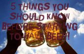 5 Dinge, die Sie vor dem Start wissen müssen haben Bier!