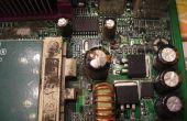 Wie Sie Kondensatoren auf Computer-Mainboards und andere elektronische Geräte zu reparieren.