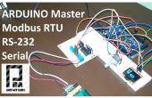 Modbus RTU Master mit Arduino über RS232