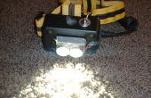 Wiederaufladbarer LED-Scheinwerfer