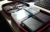 Inexpensive CD Wallet Electronics Tool Kit