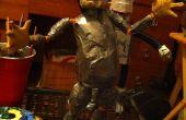 Einfach Stop-Motion-Puppe mit Sugru Gesicht und Hände