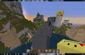 Augenblick Wände in Minecraft