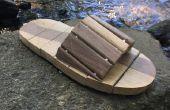 Holz-Sandalen