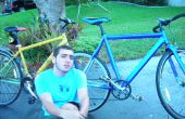 Genial einfache Tandem Fahrrad