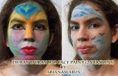 Duran Duran Rio Gesicht malen 2 Versionen