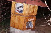 Doppelboden Katzenhaus