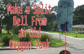 Machen Sie eine Split-Glocke aus einer alten Sauerstoffflasche
