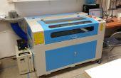 Einführung in die SLO MakerSpace 100-Watt-Laser-Cutter und Kupferstecher