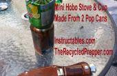 Mini Hobo Kocher und Cup kostenlos recycelt überleben