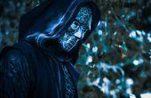 Death Eater Cosplay mit 3D-Details gedruckten