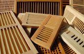 Holz-Arten für Stock Register