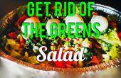 Befreien Sie sich von den grünen Salat!