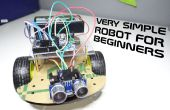 Sehr einfacher Roboter für Anfänger