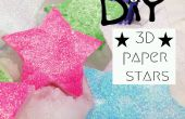 DIY 3D Papiersterne