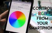 SmartPhone gesteuert RGB Stimmungslicht