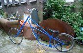 Lowrider Chopper Fahrrad, hergestellt aus alten Fahrräder