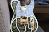 Erstellen Sie ein 3D Steampunk Gitarre Abziehbild