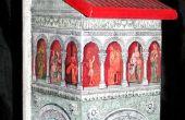 Schöne Pompeji Stil Decoupage Projekt (Kunst enthalten)