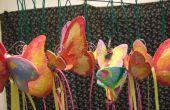 Papier Mache Schmetterlinge