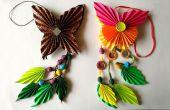 DIY: Wie man Origami Papier Schmetterling Dangler | Die Kunst des Papierfaltens