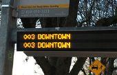 LED-Transit Clock - nie wieder den Bus verpassen!