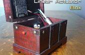 Automatisch öffnen / schließen eine Box mit einem Linearantrieb und Arduino