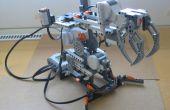 Wie man einen einfachen Roboterarm von Lego Mindstorms NXT bauen?