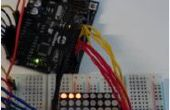 8 x 8 LED Pong mit Arduino