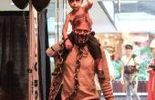 Mad Max und Krieg Boy Nux Vater-Sohn-Kostüm
